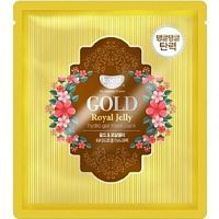 Petitfee Koelf Gold & Royal Jelly Mask Pack Гидрогелевая маска для лица с мёдом 1шт